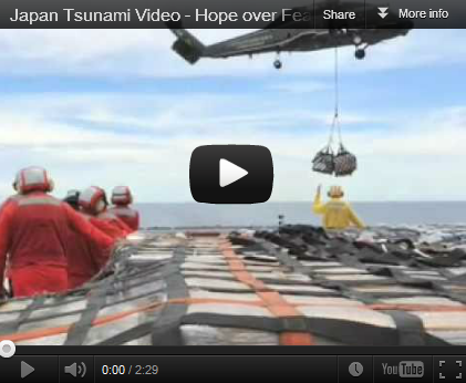 Japan Tsunami Video – Hope over Fear